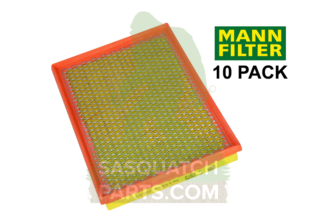 mann air filter 10-pack for jeep liberty 2 8l crd