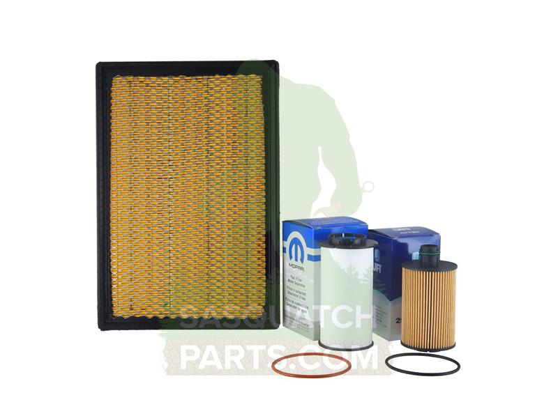 complete filter kit air oil fuel for ram 3 0l ecodiesel. Black Bedroom Furniture Sets. Home Design Ideas