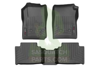 Vehicle Protection Bundle Wt Floor Liners Wt Mud