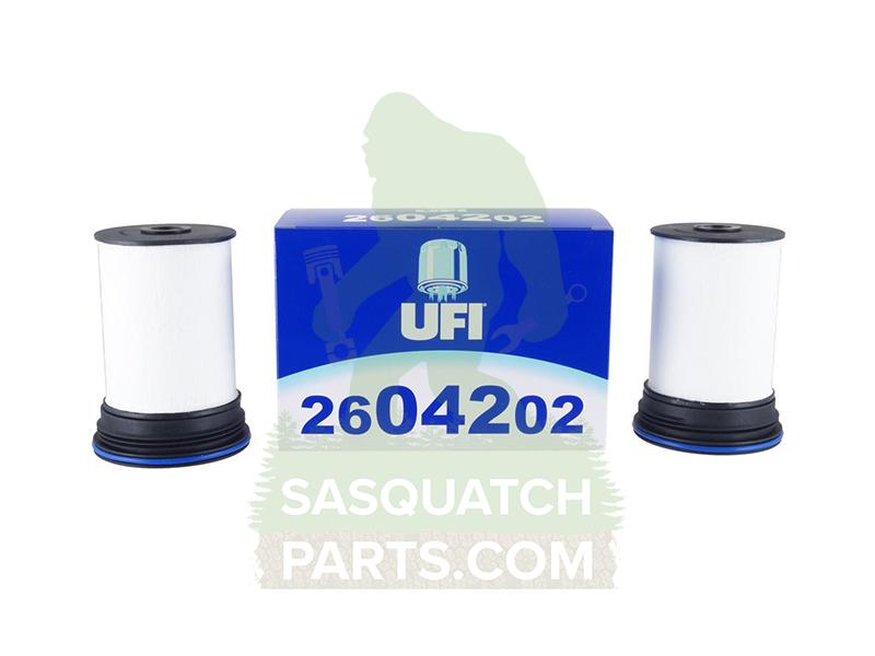 ufi fuel filter set for colorado/canyon 2 8l duramax | sasquatchparts com