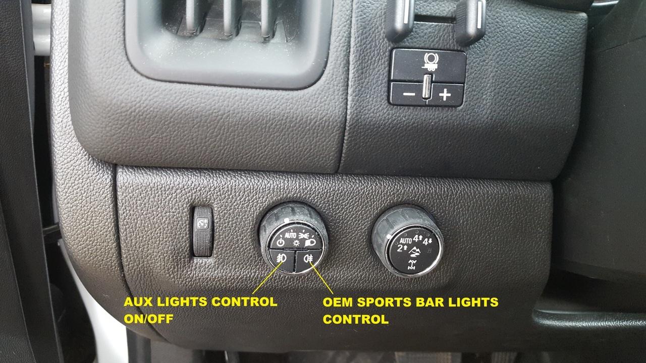 2019 Chevy Colorado Light Bar